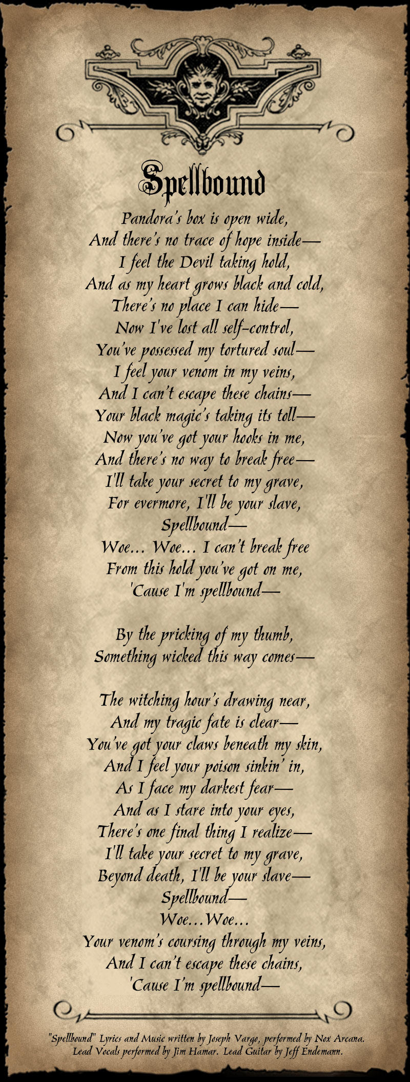 Spellbound Lyrics